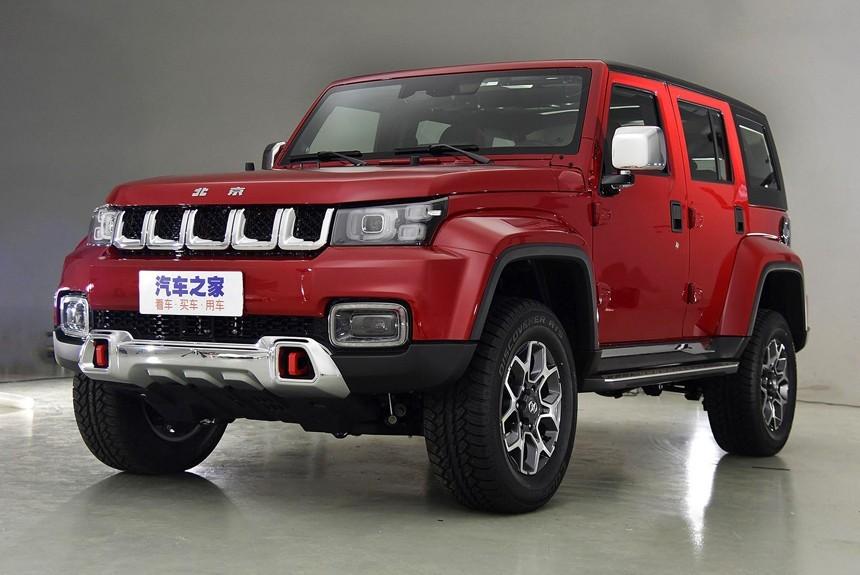 BAIC представила чудный джип BAIC Beijing BJ40 Plus