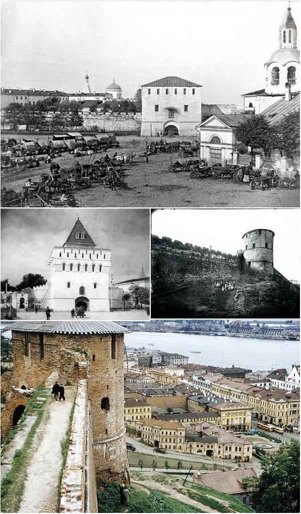 Зарождения Нижегородского кремля