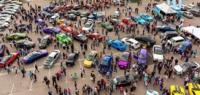 «День Автомоспорта» на парковке гипермаркета НАШ