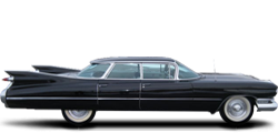 Cadillac DeVille 4-window Sedan 1959-1960
